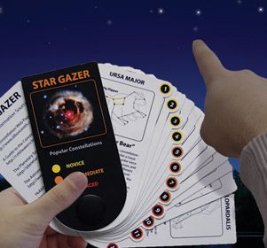 Dont just stare at the night sky, learn about all the different constellations that make up the cosmos. Adults and children will be entertained with this eductational interactive games about constellations.  Bring one on your next camping trip as a great night time activity